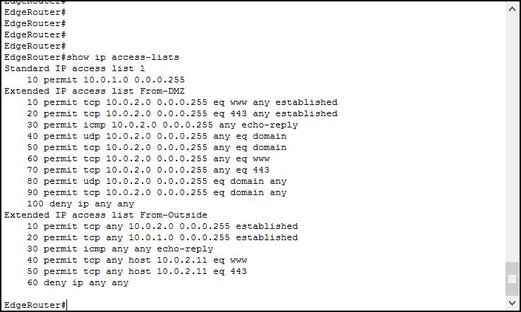 Access Lists Configuration on Cisco devices - ICTShore com