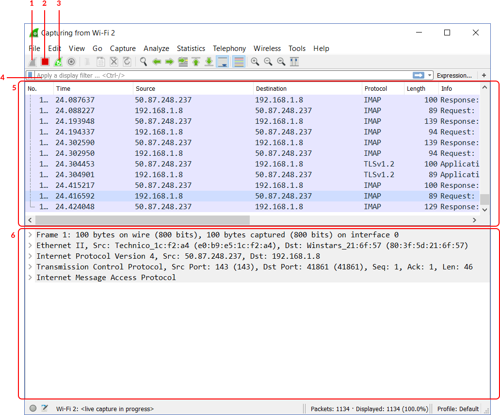 How to use Wireshark, the complete Tutorial - ICTShore com
