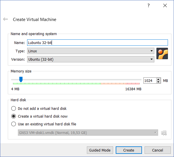 To add VMs in GNS3, you need to configure each VM in VirtualBox first
