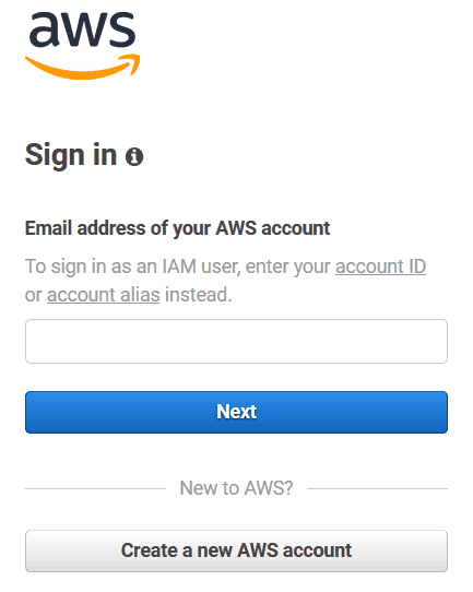 How to use AWS: before everything, you need to sign in to the console