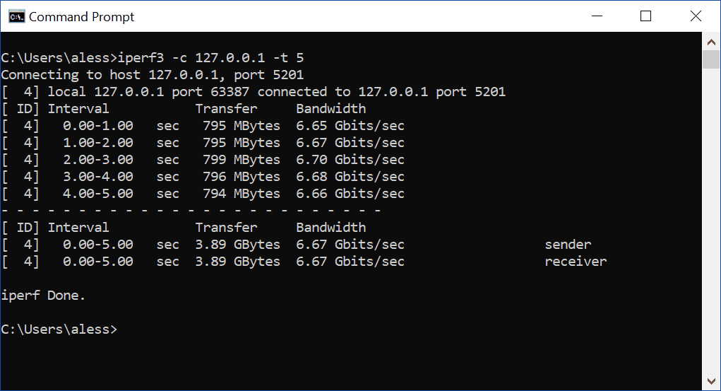 How to use iperf, a complete tutorial - ICTShore com